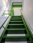Grønn trapp