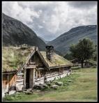 Gamle seterbygninger i Grøvudalen